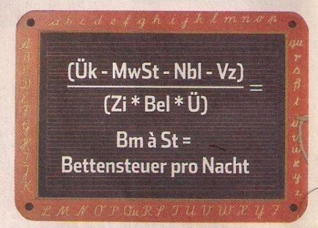 Bettensteuer-Formel: Ein Hamburger Politiker berechnet so die Matratzen-Maut
