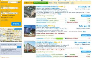 booking.com Hotelsuche HH 30.11.2012