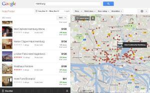 Google Hotelfinder - Hamburg
