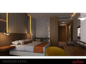 Hotelzimmer des Marriott Sisli Hotel Istanbul