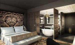 Kameha Grand Zürich - Suite designt von Marcel Wanders