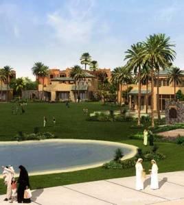 Ritz Carlton Marassi Beach Resort nahe El Alamein in Äygpten: Mit 1,75 Milliarden US-Dollar eines der teuersten Hotelprojekte