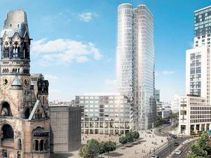 Upper West: 118-Meter-Turm in der City West soll 582-Zimmer-Motel One beherbergen