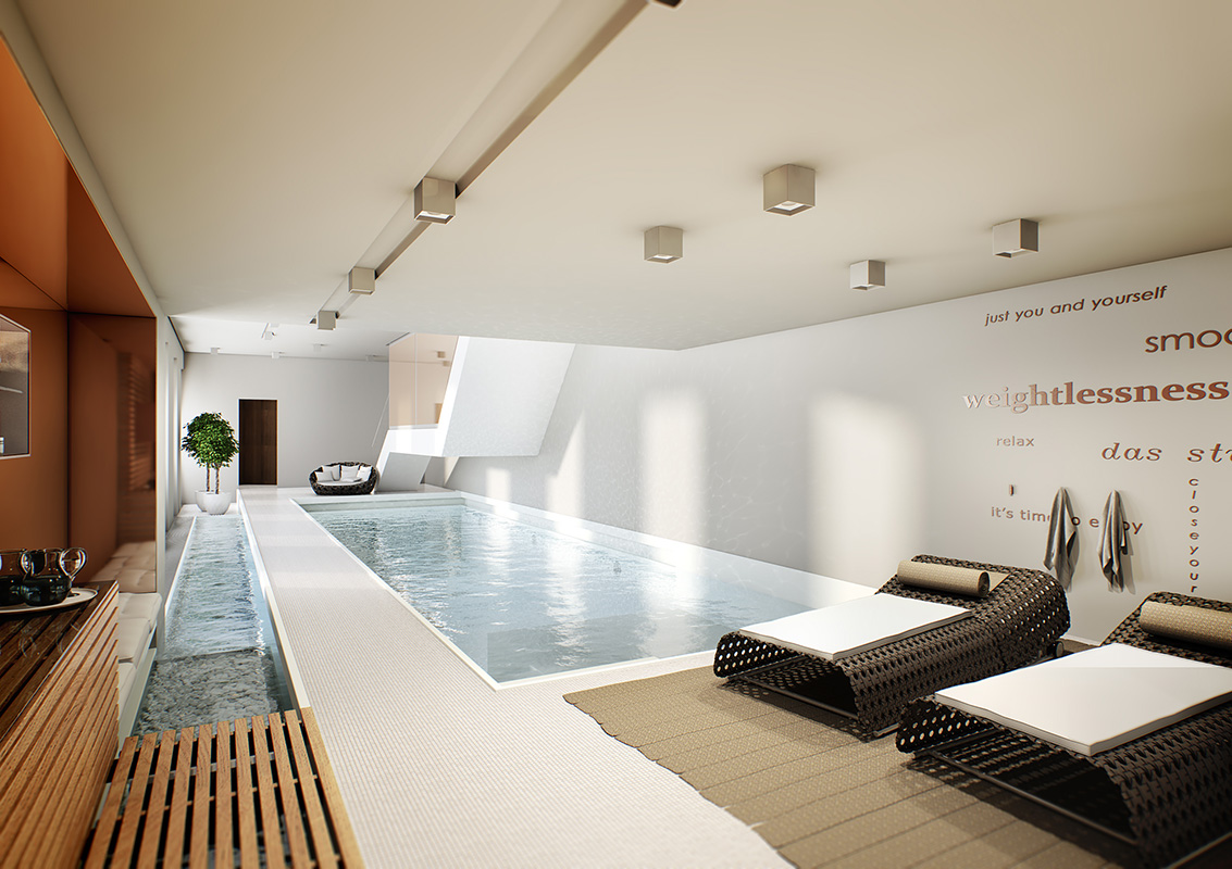 Indoor Pool im Stue Berlin