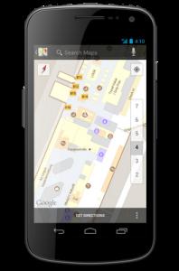 Google Indoor Maps - Flughafen München