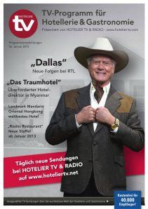 HOTEL TV PROGRAMM - Januar 2013