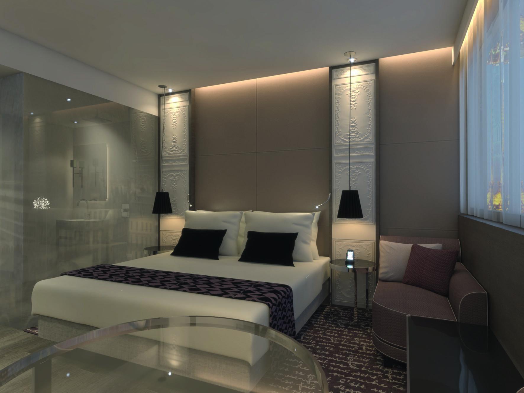 Zimmer design  Mövenpick Hotels eröffnet erstes Hotel in Paris – Ehemaliges ...