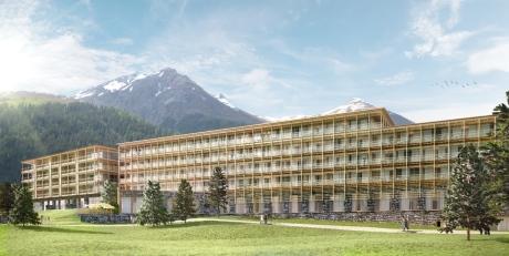 Ameron Hotel Davos: Baustart ist im April - Eröffnung ist zur  Wintersaison 2015/2016