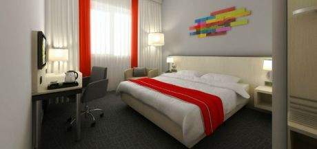 Businesszimmer im Park Inn by Radisson, Amsterdam Airport Schiphol