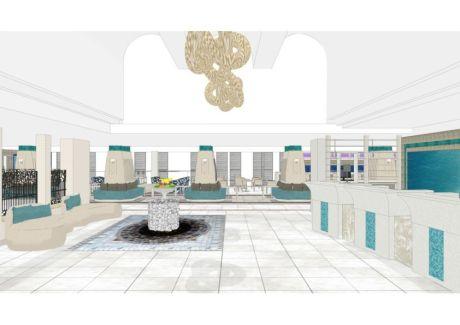 Herods Dead Sea Hotel & Spa - Designkonzept von Andreas Neudahm (Grafik: Neudahm Interior Design)