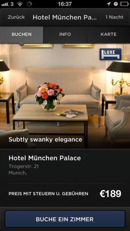 Hotel Tonight - Hotel München Palace
