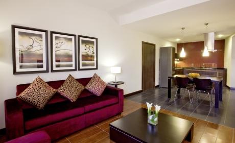 Mövenpick Hotel Apartments The Square Dubai - Ein-Zimmer-Apartment