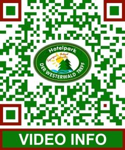 QR-Code zur Video Landing Page - Beispiel: Hotelpark Der Westerwaldtreff