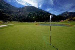 Golfplatz von Andermatt Swiss Alps