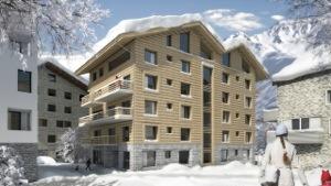 Apartmenthaus in Andermatt Swiss Alps