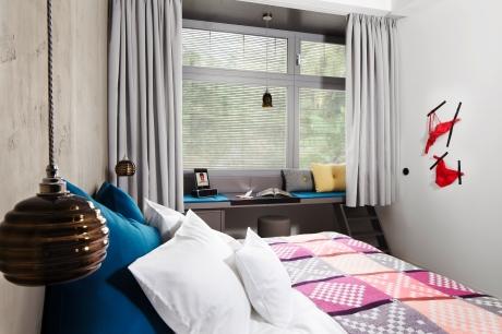 Musterzimmer im 25hours Bikini Berlin: Das Designhotel mit 149 Zimmern wird im Herbst 2013 nahe dem Bahnhof Zoo eröffnet