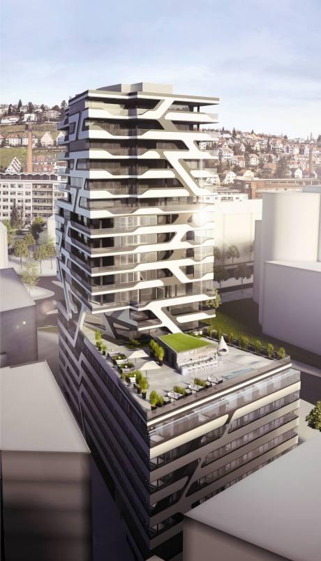 Neues Steigenberger Hotel im Stuttgarter Europaviertel eröffnet Ende 2015