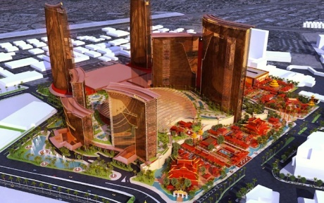 Resorts World Bayshore Projekt bei Manila/Philippinen
