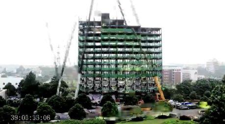 Entstand in nur 15 Tagen Bauzeit: Ark Hotel in Changsha/China mit 30 Stockwerken