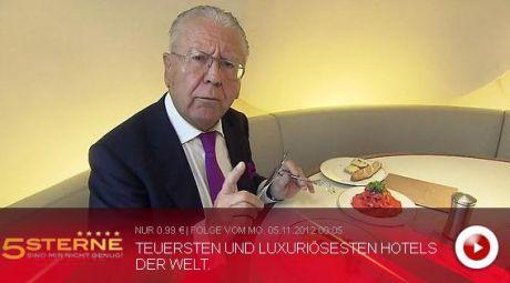 Heinz Horrmann - Fünf Sterne sind mir nicht genug