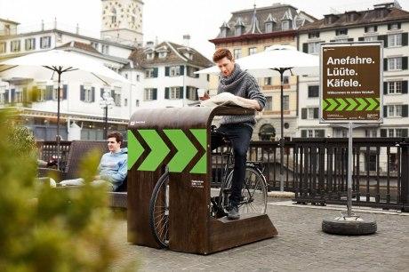 Velokafi: Gastro-Idee von Coffee Drive-in in Zürich kam gut an - Nächster Standort geplant - Gastro Report bei HOTELIER TV: www.hoteliertv.net