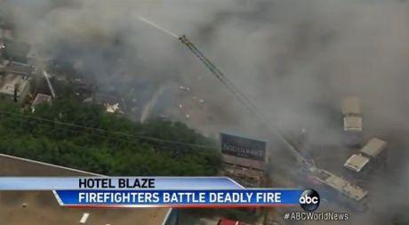 Verheerendes Feuer in Hotel in Texas tötet 4 Feuerwehrmänner - 13 verletzt - TV Report bei HOTELIER TV