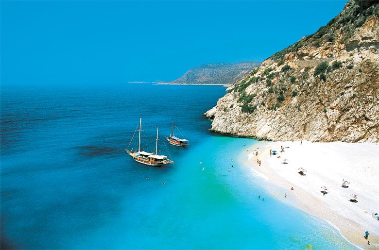 Küste bei Antalya in der Türkei
