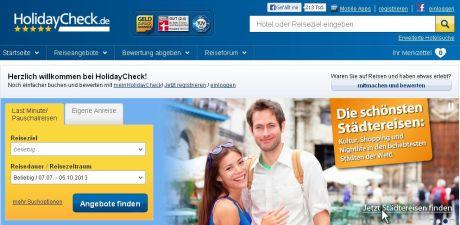 holidaycheck.de: Noch mehr Umsatz auch mit vielen gefälschten Hotelbewertungen?