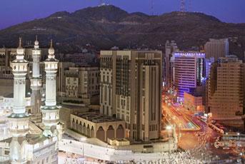 In Mekka entstehen weitere 16 neue Tophotels