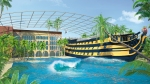 "Therme Erding mit Themenhotel ""HMS Victory"""