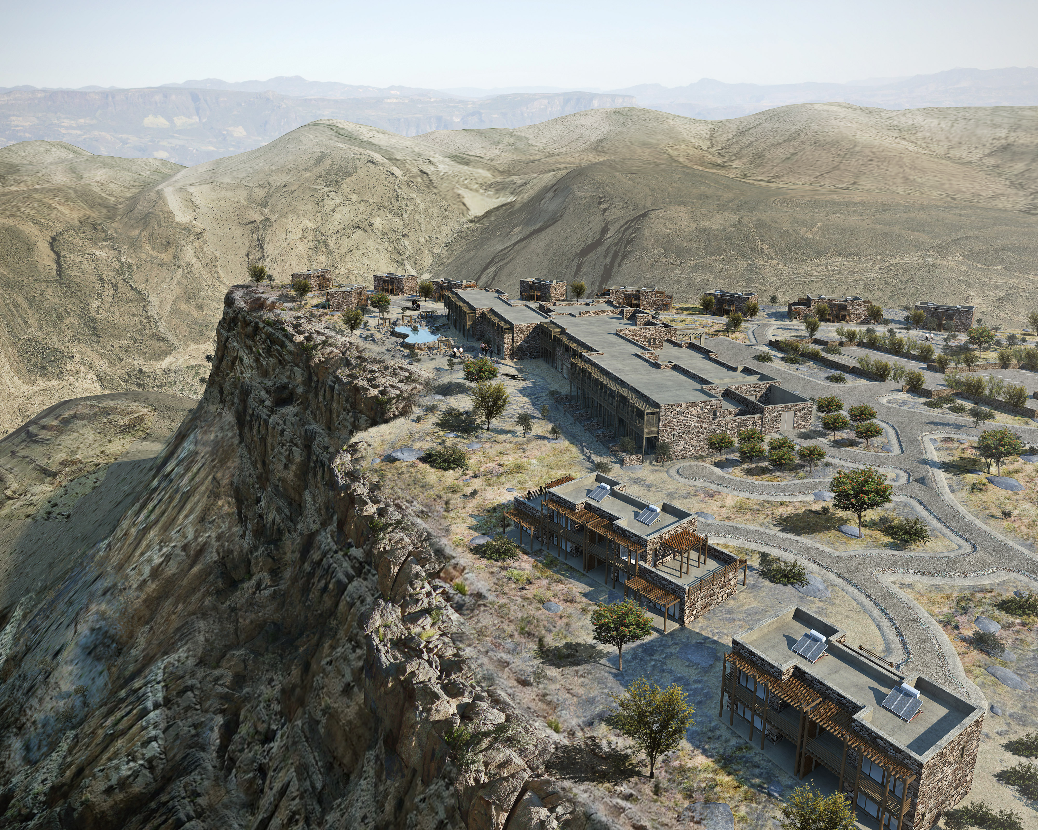 Alila Jabal Akhdar im Oman - Eröffnung ist Anfang 2014