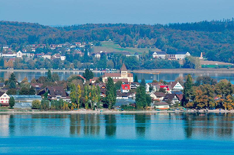 Klosterinsel Reichenau im Bodensee