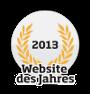 Website des Jahres 2013 - Logo
