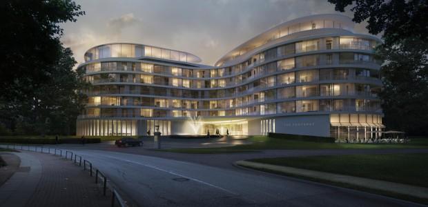 """High-End-Luxushotel """"The Fontenay"""" an Hamburgs Außenalster: Eröffnung soll Mitte 2016 sein"""