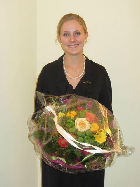 Luzie Schnitzer ist Rezeptionistin des Jahres 2013