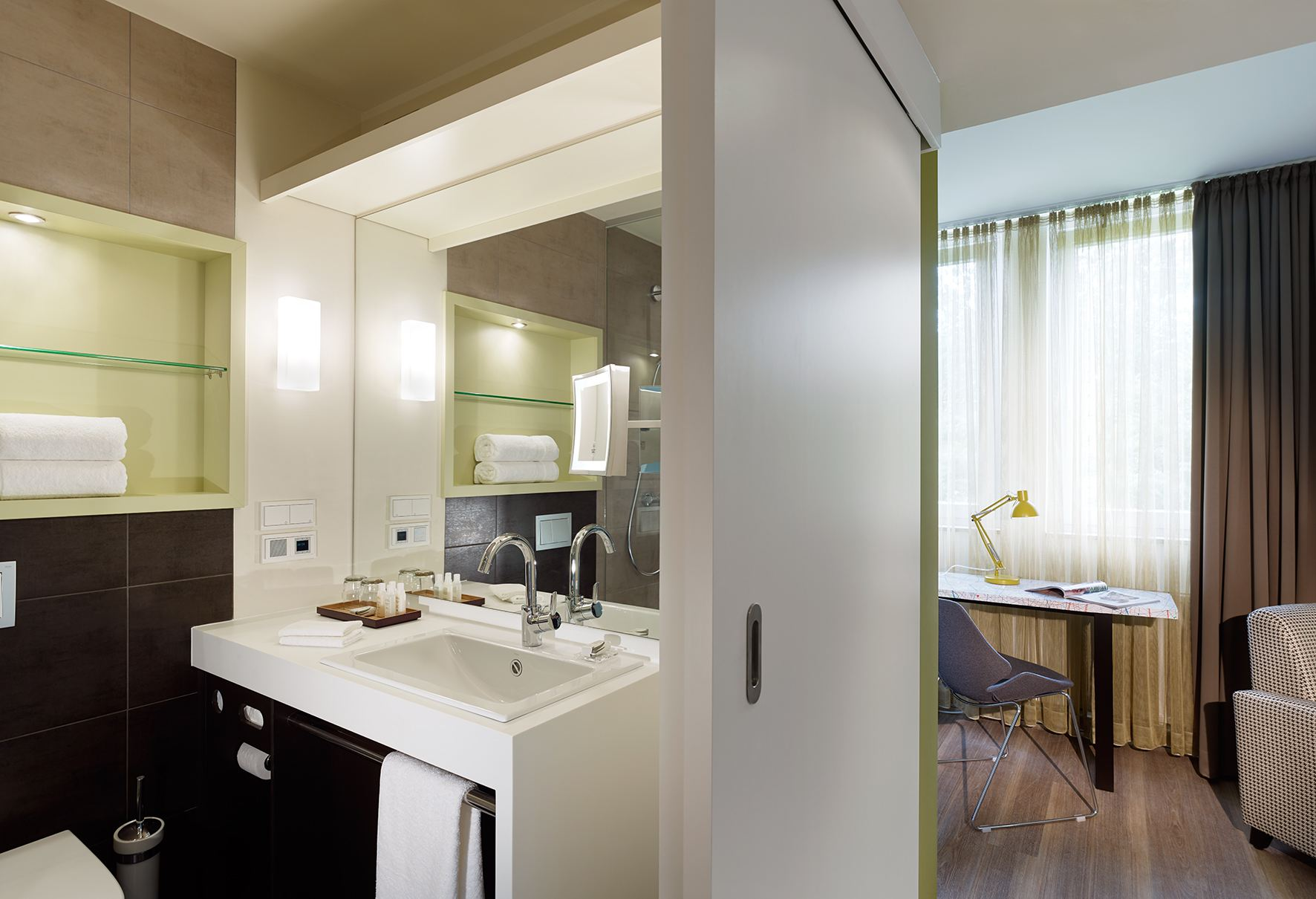 hotel indigo düsseldorf – king room – badezimmer – hottelling 2.0, Badezimmer ideen
