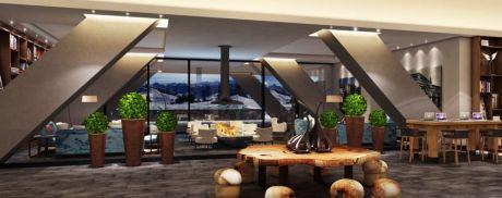 Intercontinental Davos - Lobby