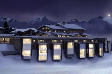 Six Senses Mont Blanc: Das exklusive Resort mit nur 32 Suiten wird 2015 eröffnet