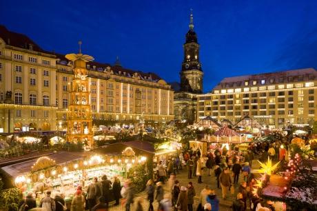 Weihnachtsmarkt Dresden (Foto: Silvio Dittrich)