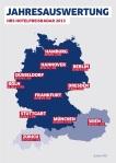 Hotelpreise bei HRS in deutschen Großstädten nahezu unverändert: Zürich, London und Moskau bleiben teuerste Städte in Europa - New York verzeichnet weltweit die höchsten Zimmerpreise