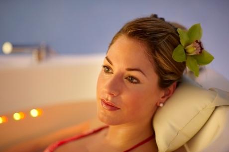 iPad-Massage im Tschuggen Grand Hotel in Arosa