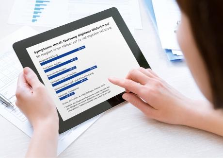Sehgewohnheiten ändern sich radikal durch die Nutzung von mobilen digitalen Geräten