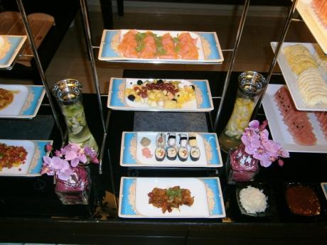 Frühstücksbuffet für chinesische Gäste bei den Grand City Hotels