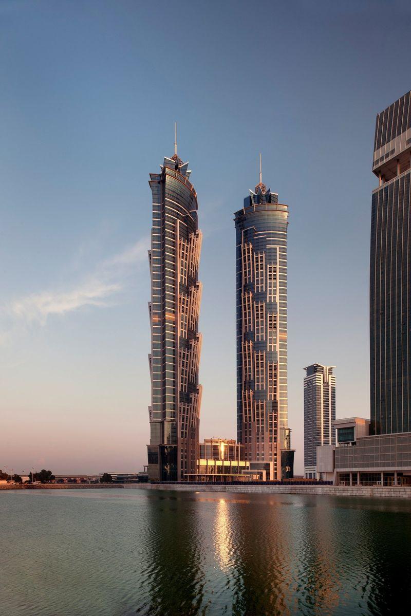 JW Marriott Marquis Dubai: Mit 355 Meter einer der höchsten Hotel-Türme der Welt