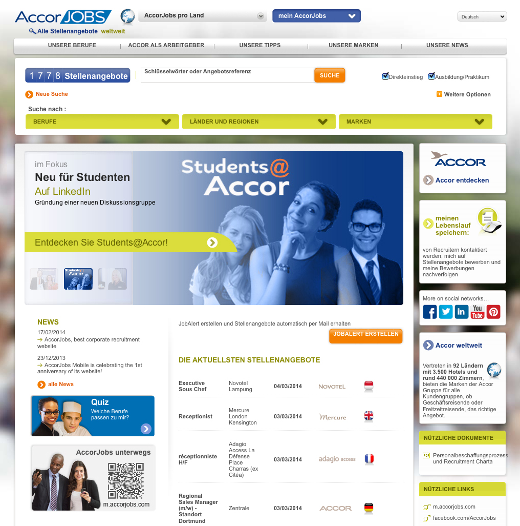 Accor Jobs