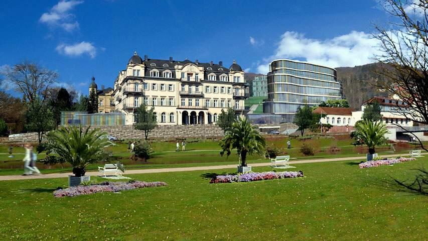Fürstenhof in Bad Kissingen: Mit Neubau und Medical Spa soll das Tophotel 2017 wieder eröffnet werden