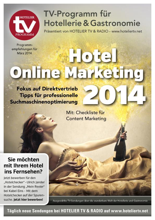 HOTEL TV PROGRAMM März 2014 - Cover