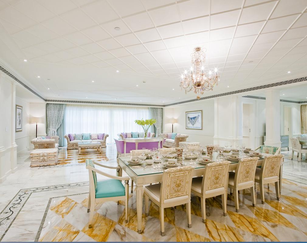 Neues Hotel-Highlight in Dubai: Der Palazzo Versace wird im August 2014 eröffnet
