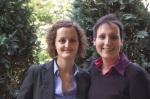 Frauenpower im Wöhrdersee Hotel Mercure Nürnberg City: Elif Ülay (rechts) und Annika Wesener
