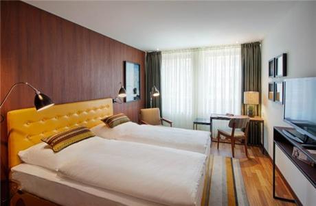 Eröffnung ist im September 2014: Musterzimmer im neuen Ameron Hotel in Hamburg-Speicherstad